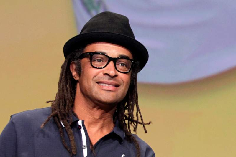 France's tennis champion and singer Yannick Noah is seen during the official presentation of 2012 Tour de France cycling race route on October 18, 2011 in Paris. AFP PHOTO / JOEL SAGET