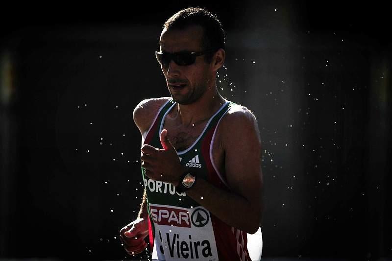 João Vieira em quarto nos 20 km marcha