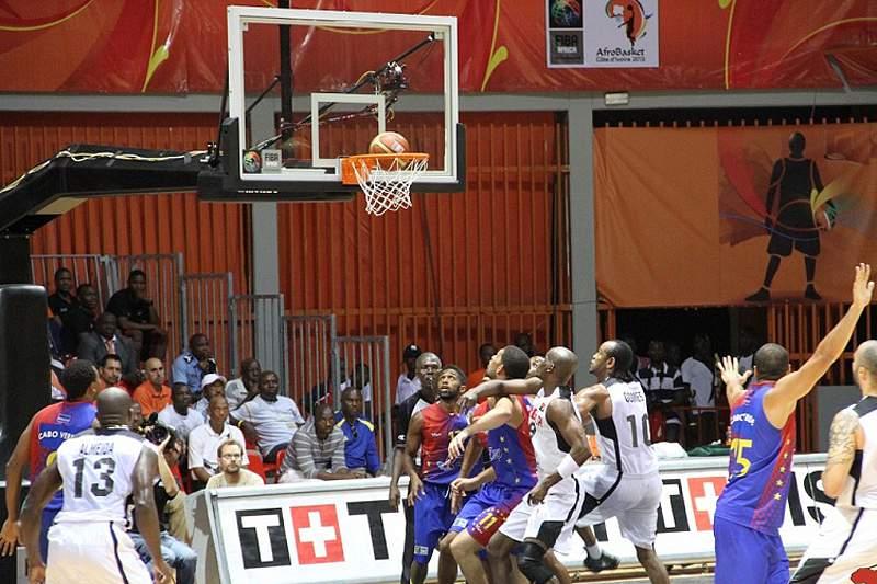 Angola-Cabo Verde no último Afrobasket