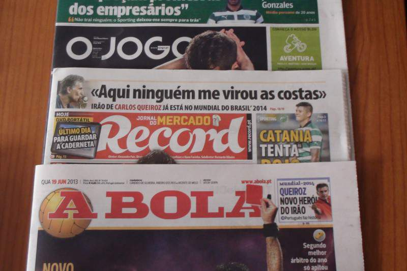 Revista de Imprensa desportiva