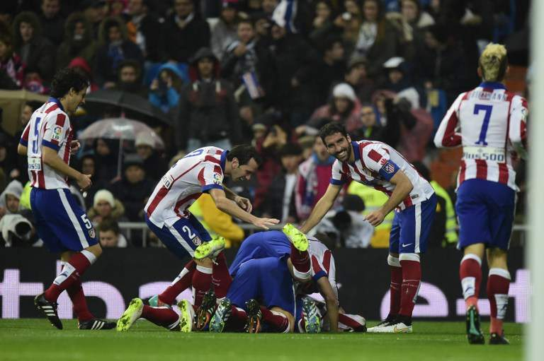 A festa do Atlético de Madrid