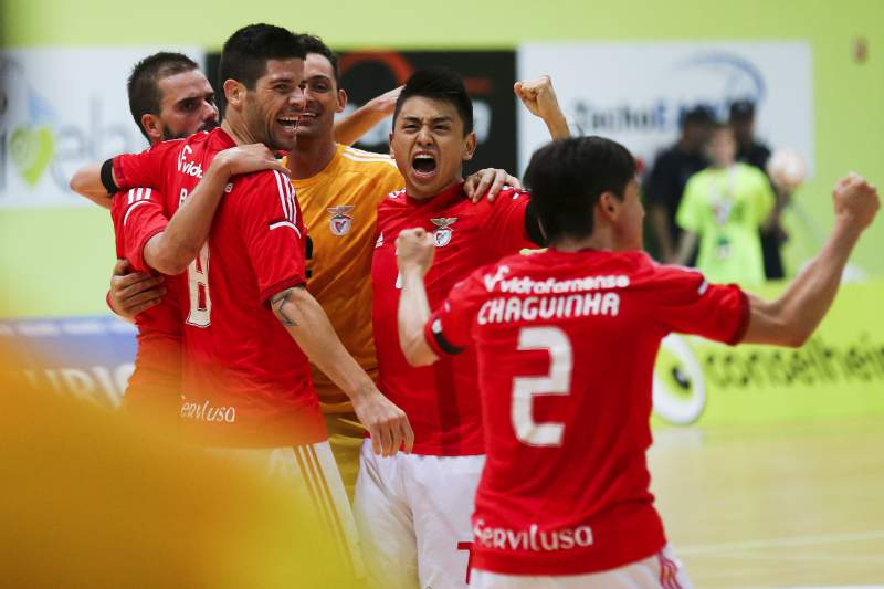 Benfica vence Sporting em futsal