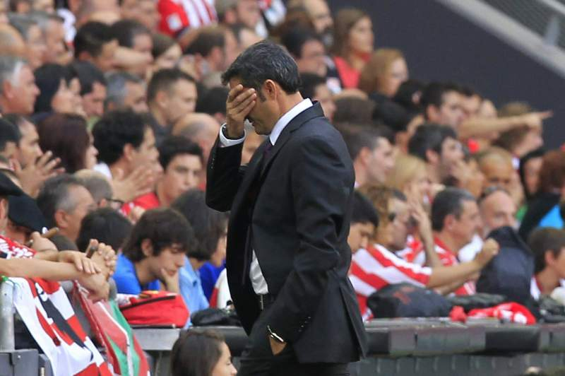 Ernesto Valverde desiludido