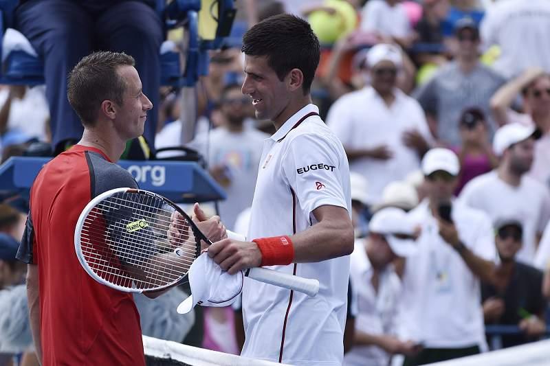 Djokovic bateu o alemão Philipp Kohlschreiber