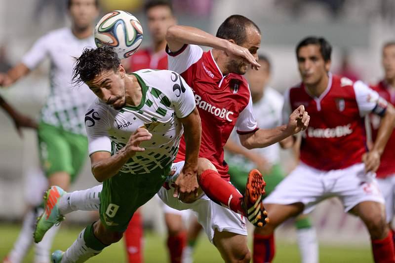 Moreirense empatou com o SC Braga na 2.ª jornada da I lLiga