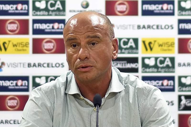 Apresentação de José Mota como novo treinador do Gil Vicente