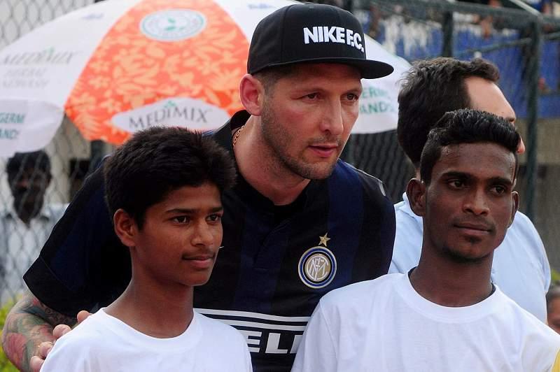 Marco Materazzi na Índia
