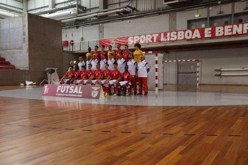 Plantel do Benfica de futsal