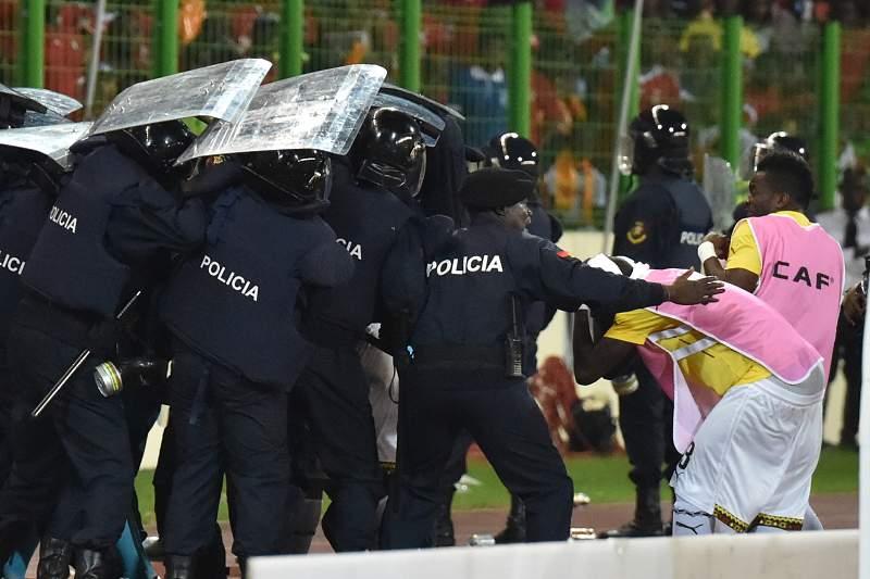 gana guine equatorial policia incidentes