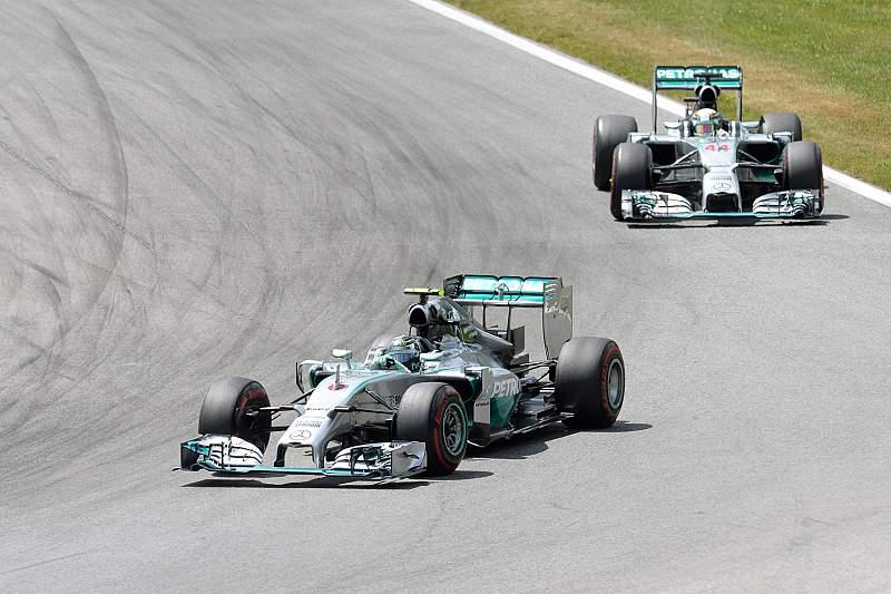 Rosberg e Hamilton têm dominado a temporada