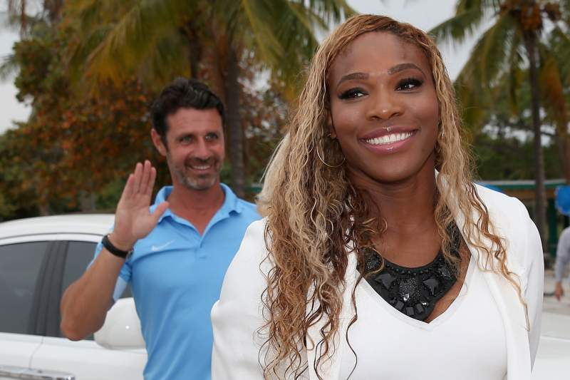 Patrick Mouratoglou e Serena Williams