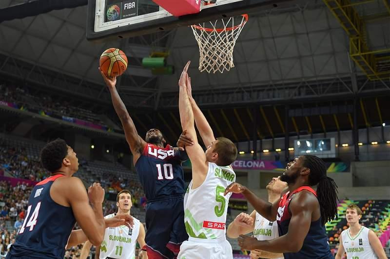 EUA vence Eslovénia no Mundial de Basquetebol