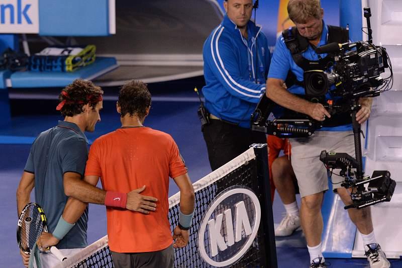 Nadal e Federer em mais um duelo