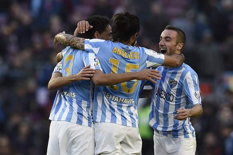 Málaga vence Barcelona