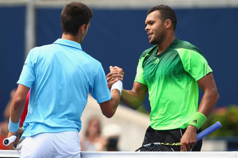 Djokovic e Tsonga