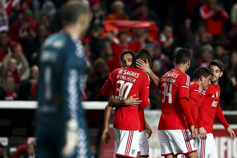 Benfica bate Nacional na Taça da Liga
