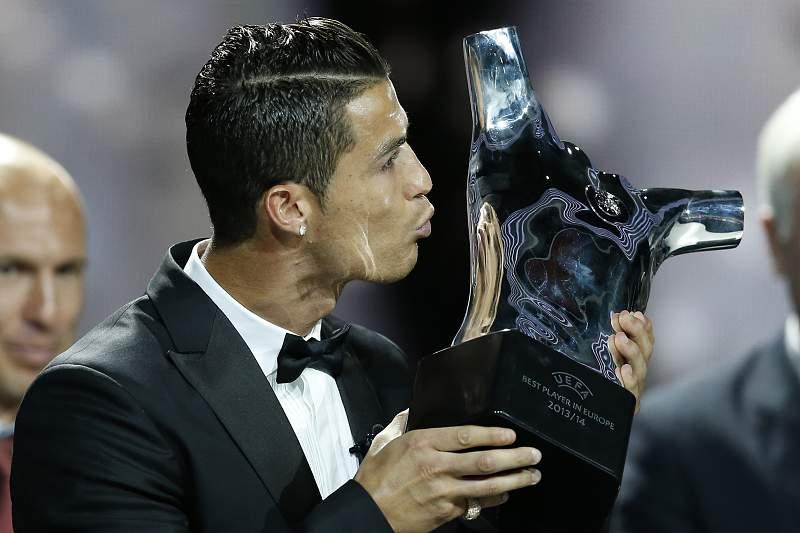 Cristiano Ronaldo eleito Melhor Jogador da Europa