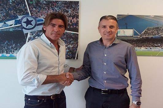 Atromitos apresento Sá Pinto como novo treinador