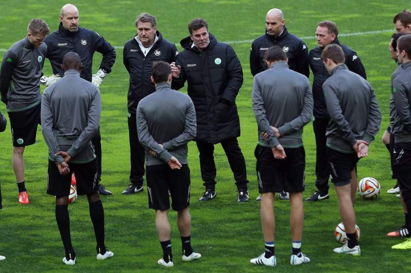 VfL Wolfsburg training