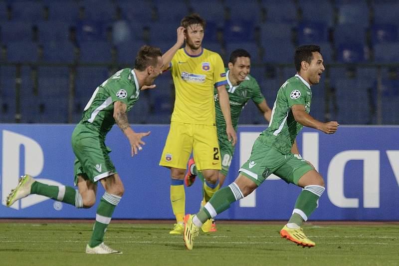Ludogorets apura-se para a fase de grupos da Liga dos Campeões