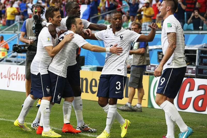França festeja golo