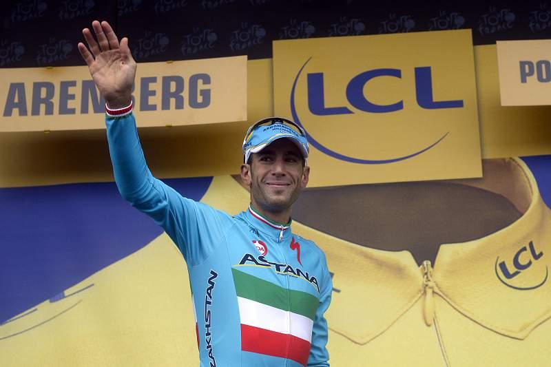 Nibali feliz com liderança no Tour