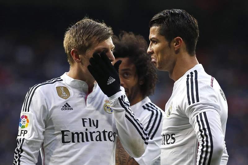 Toni Kroos criticou festa de Cristiano Ronaldo