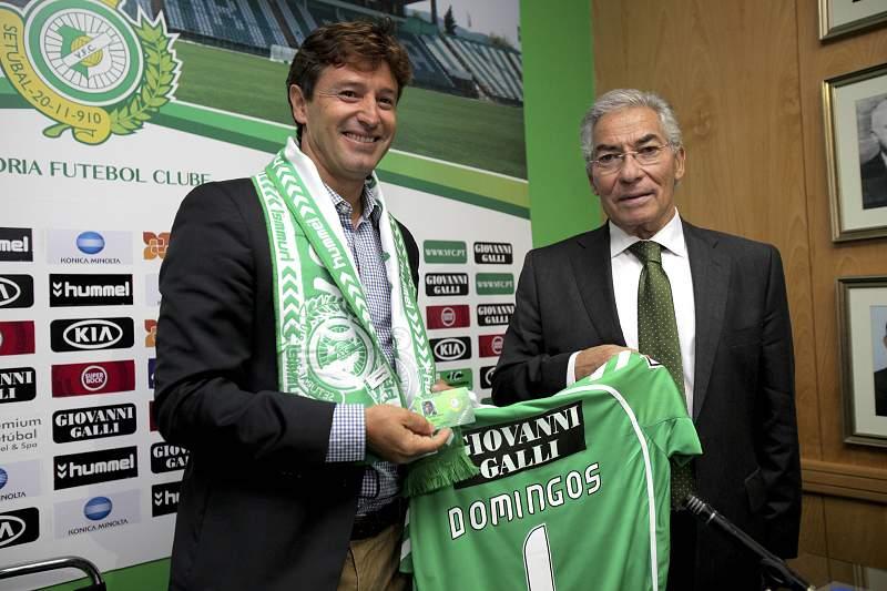 Domingos Paciência e Fernando Oliveira