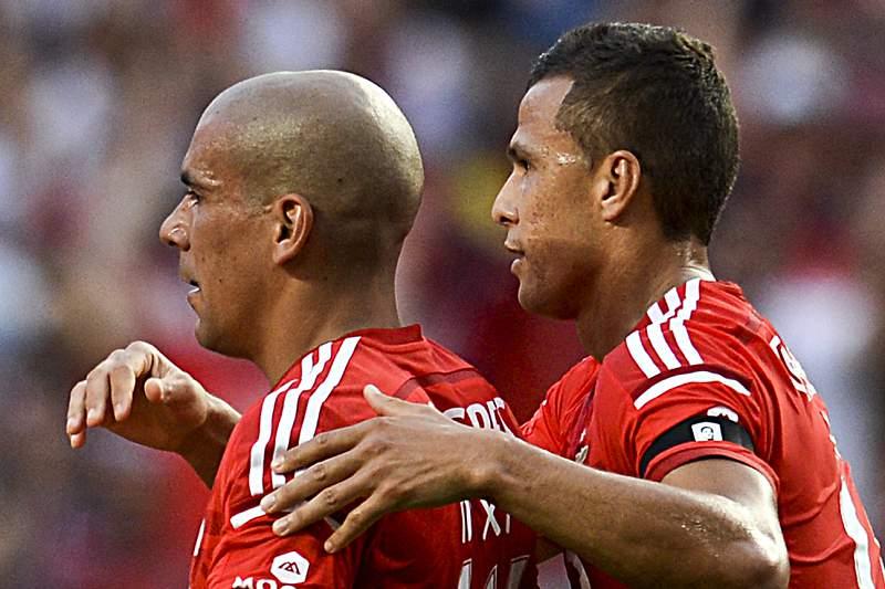 Benfica venceu Paços de Ferreira por 2-0