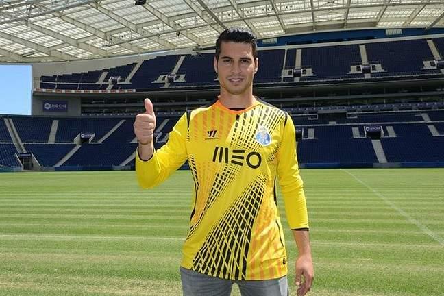 Andrés Fernandez no FC Porto