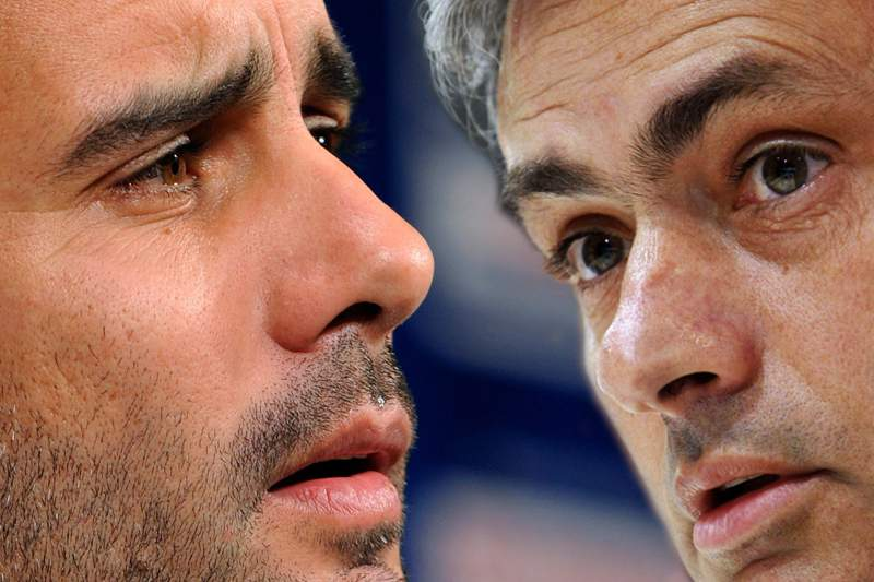 Guardiola e Mourinho
