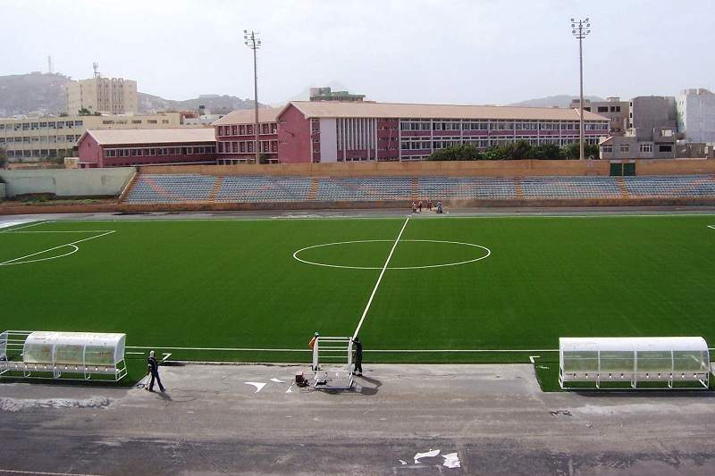 Estádio Adérito Sena no Mindelo, Cabo Verde