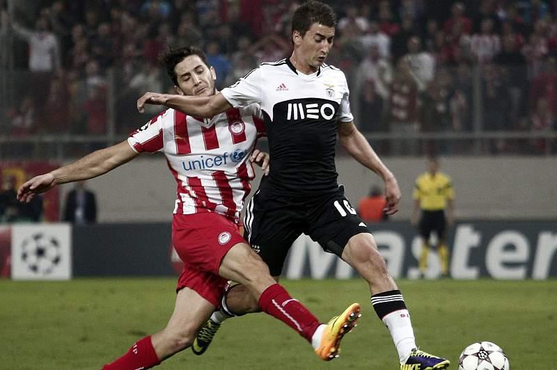 Djuricic não teve sucesso ao serviço do Benfica