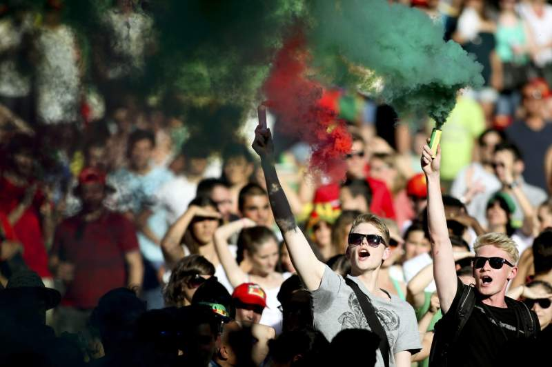 World Cup 2014 - Portuguese fans - Alemanha vs Portugal