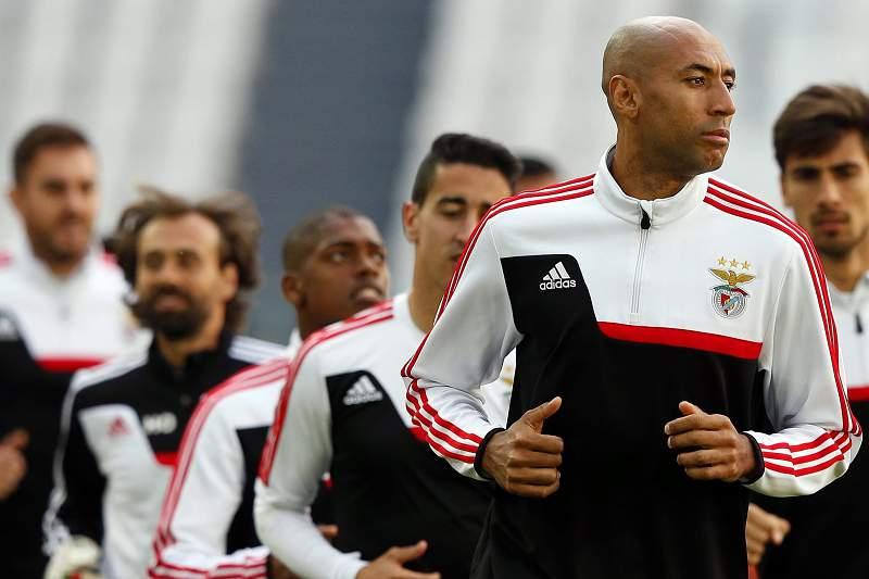 Liga Europa: treino do Benfica