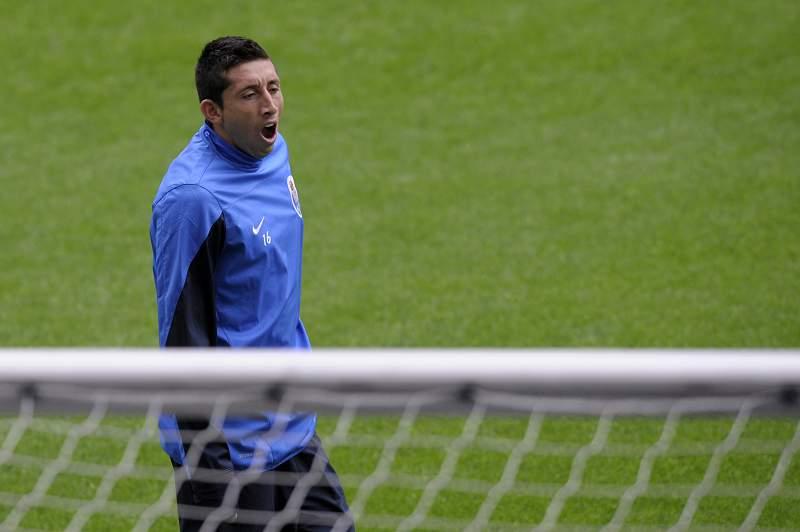 Herrera regressou aos treinos