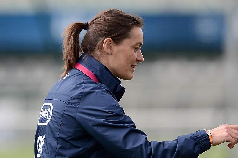 Corine Diacre, treinadora do Clermont Foot