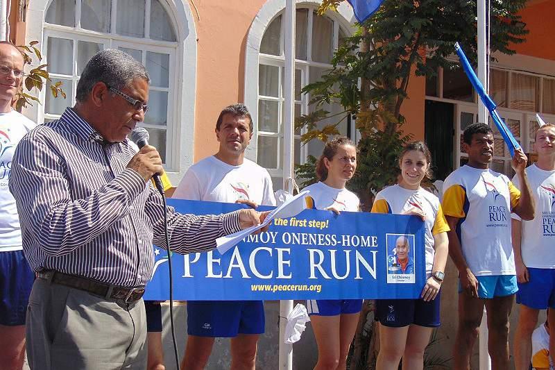 Corrida da Paz em Cabo Verde