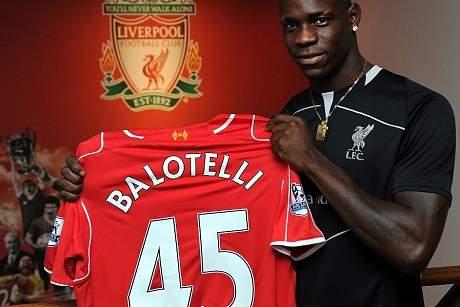 Balotelli no Liverpool