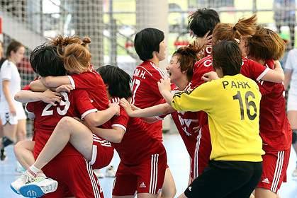 Coreia do Sul sagra-se campeã mundial de sub20 em andebol