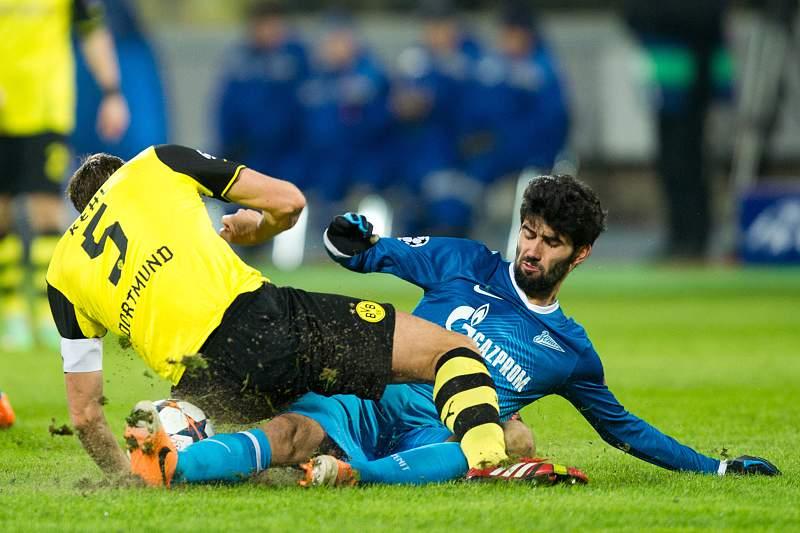 Luís Neto em ação pelo Zenit S. Petersburgo