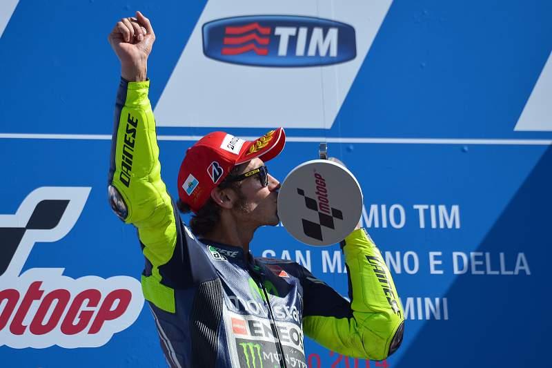 Rossi vence GP de San Marino