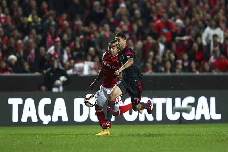Benfica perde com o Braga na Taça