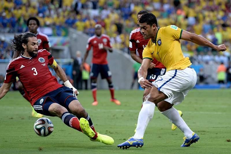 Brasil-Colômbia Hulk