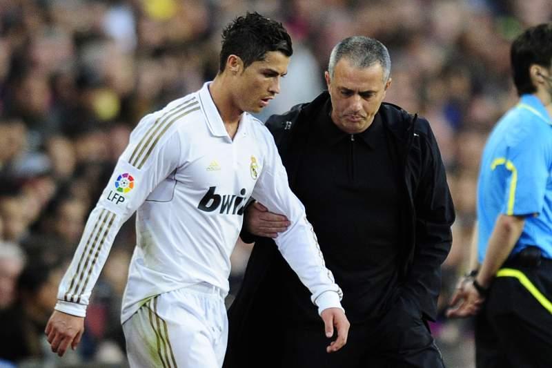 Mourinho e Ronaldo quase chegaram a vias de facto no Real Madrid