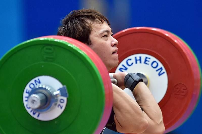 Recorde mundial de halterofilismo para Lin Tzu-chi nos Jogos Asiáticos