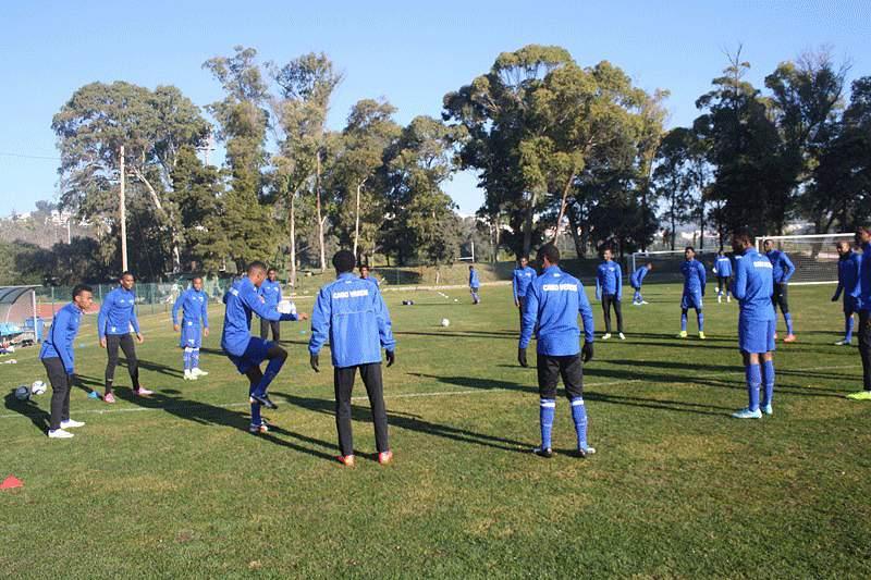 Treino da seleção de Cabo Verde