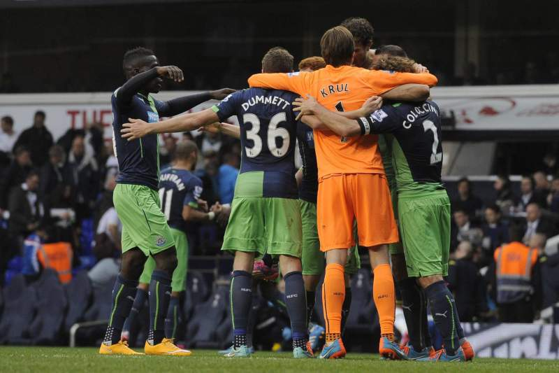 Newcastle venceu o Tottenham em White Hart Lane