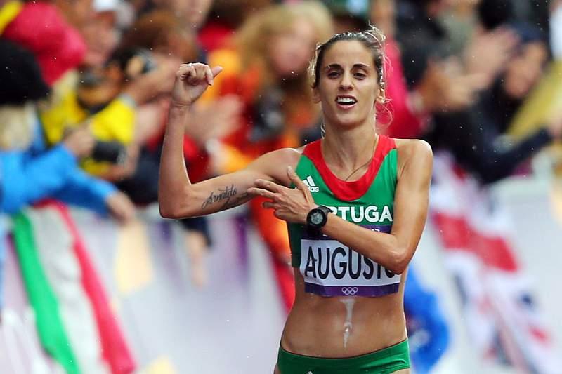 Jéssica Augusto, maratonista