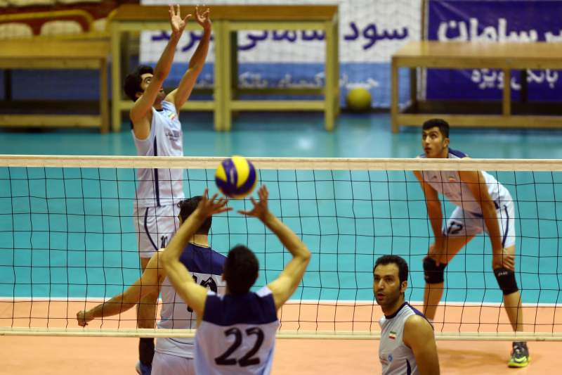Irão selecão voleibol